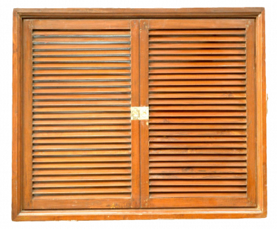 Teak  Double Window