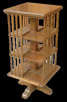 biblioth que tournante teck h 109 cm antiquites de. Black Bedroom Furniture Sets. Home Design Ideas