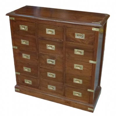 15 Drawers Cabinet