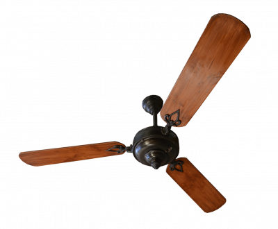 Ventilateur colonial ancien D 136 cm