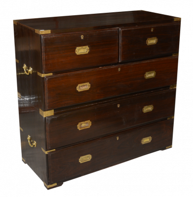 Rosewood Chest of Drawers 106 cm