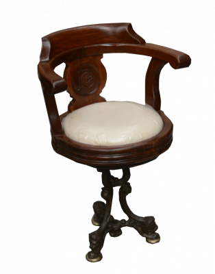 P & O Liner's revolving chair