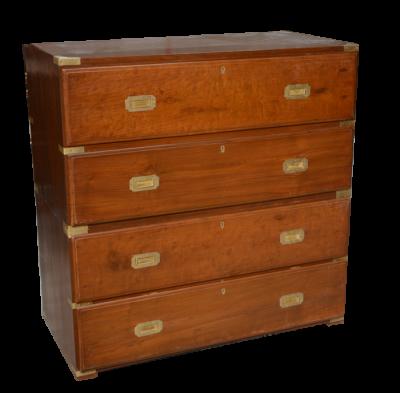 commode secr taire ancienne en teck antiquites de marine casque de scaphandrier meuble de. Black Bedroom Furniture Sets. Home Design Ideas