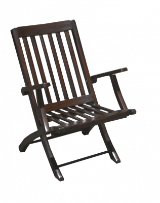Rosewood Folding Chair