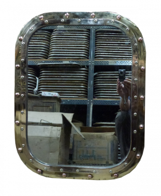 Porthole Mirror Rectangular