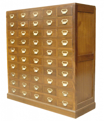 50 Drawers Cabinet