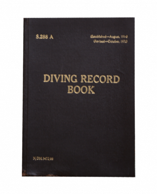 Diving Record Book